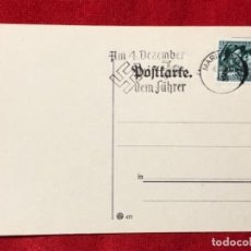 Postales: ALEMANIA TARJETA CIRCULADA DURANTE EL TERCER REÍCH.. Lote 161839570