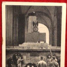Postales: ALEMANIA, POSTAL PROPAGANDÍSTICA DE ADOLF HITER, TERCER REÍCH. Lote 161853118
