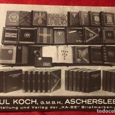 Postales: POSTAL ALEMANA PROPAGANDA DEL TERCER REÍCH, BERLÍN DÍA DEL SELLO 1938 TAG DER BRIEFMARKE . Lote 161854058