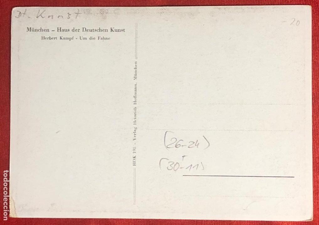 Postales: Postal alemana propaganda del tercer reích, - Foto 2 - 161854474