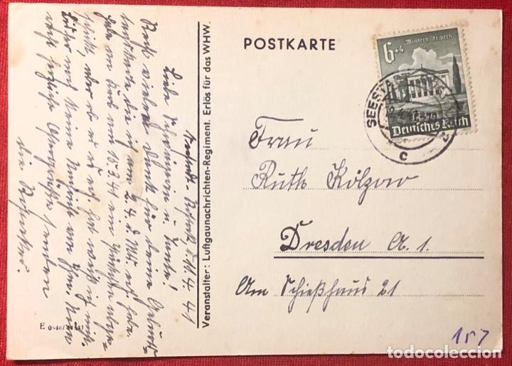 Postales: Postal alemana propaganda del tercer reích, - Foto 2 - 161854582