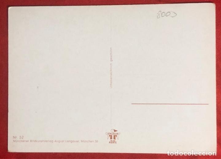 Postales: Postal alemana propaganda del tercer reích, Oktoberfest Múnich 1938 - Foto 2 - 161855394