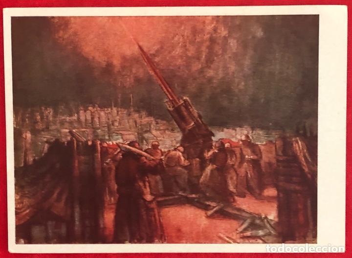 Postales: Lote de 6 postales originales Lufgaukommandos Segunda Guerra Mundial - Foto 3 - 162477982