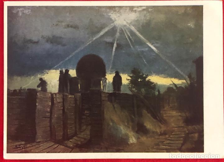 Postales: Lote de 6 postales originales Lufgaukommandos Segunda Guerra Mundial - Foto 4 - 162477982