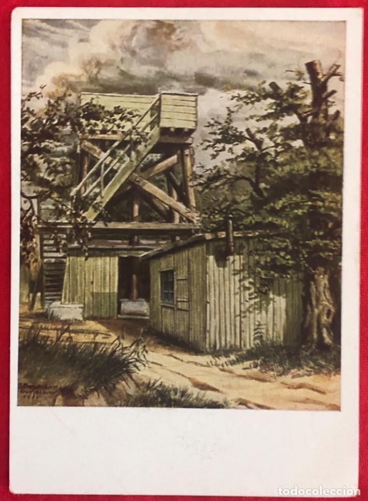 Postales: Lote de 6 postales originales Lufgaukommandos Segunda Guerra Mundial - Foto 8 - 162477982