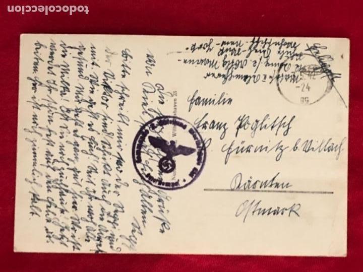 Postales: Postal original, Kriegsmarine, marina de guerra alemana - Foto 2 - 162486270