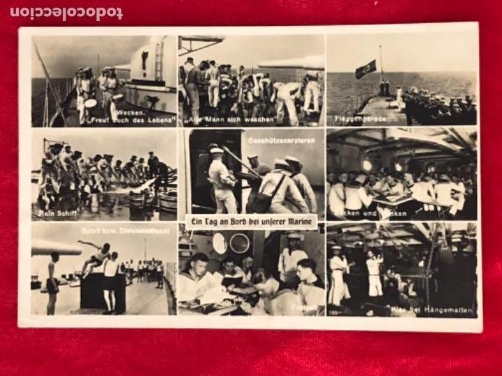 POSTAL ORIGINAL, KRIEGSMARINE, MARINA DE GUERRA ALEMANA (Postales - Postales Temáticas - II Guerra Mundial y División Azul)