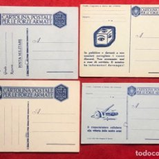Postales: LOTE DE TARJETAS POSTALES ITALIANAS SIN CIRCULAR ORIGINALES DE EPOCA . Lote 162814866