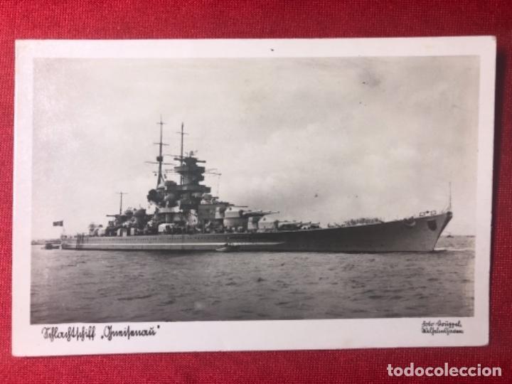 POSTAL ORIGINAL DE LA KRIEGSMARINE, MARINA DE GUERRA ALEMANA (Postales - Postales Temáticas - II Guerra Mundial y División Azul)