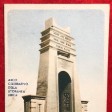 Postales: POSTAL ITALIANA DE EPOCA FASCISTA, LIBIA ITALIANA LOTTERIA DI TRÍPOLI . Lote 163383366