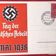 Postales: POSTKARTE ORIGINAL, TARJETA DE PROPAGANDA POSTAL ALEMANA. Lote 163531790