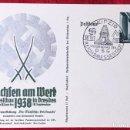 Postales: POSTKARTE ORIGINAL, TARJETA DE PROPAGANDA POSTAL ALEMANA. Lote 163532774