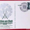 Postales: POSTKARTE ORIGINAL, TARJETA DE PROPAGANDA POSTAL ALEMANA. Lote 163532790
