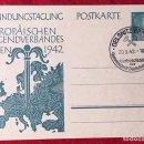 Postales: POSTKARTE ORIGINAL, TARJETA DE PROPAGANDA POSTAL ALEMANA. Lote 163532806
