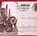 Postales: POSTKARTE ORIGINAL, TARJETA DE PROPAGANDA POSTAL ALEMANA. Lote 163532814