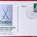 Postales: POSTKARTE ORIGINAL, TARJETA DE PROPAGANDA POSTAL ALEMANA. Lote 163532834