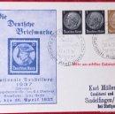 Postales: POSTKARTE ORIGINAL, TARJETA DE PROPAGANDA POSTAL ALEMANA. Lote 163532882