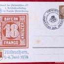 Postales: POSTKARTE ORIGINAL, TARJETA DE PROPAGANDA POSTAL ALEMANA. Lote 163532962
