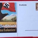 Postales: POSTKARTE ORIGINAL, TARJETA DE PROPAGANDA POSTAL ALEMANA. Lote 163533206