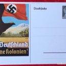 Postales: POSTKARTE ORIGINAL, TARJETA DE PROPAGANDA POSTAL ALEMANA. Lote 163533218