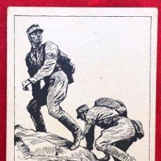 Postales: POSTAL ORIGINAL ALEMANA SA WETTKAMPFE 1937. Lote 163625450