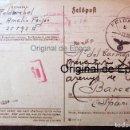 Postales: (JX-190550)TARJETA POSTAL ENVIADA DESDE EL FRENTE RUSO , DIVISIÓN AZUL , MADRINA DE GUERRA .. Lote 164211082