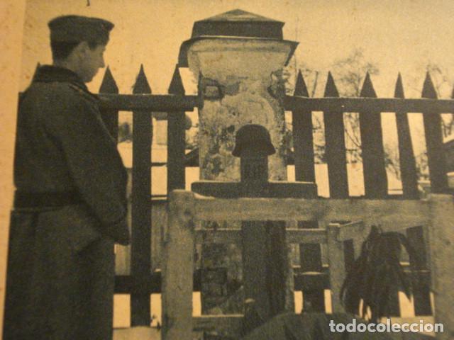 Postales: ESPAÑA DIVISION AZUL EN RUSIA 2ª GUERRA MUNDIAL - A TRAVES DE LAS TUMBAS - MIRA OTRAS - Foto 2 - 166736254