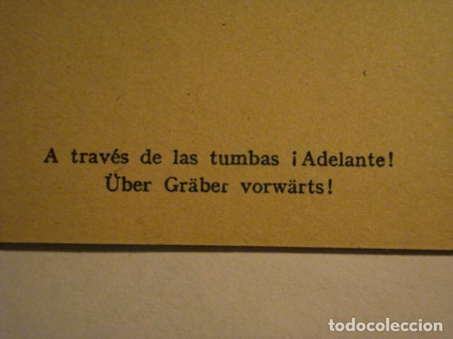 Postales: ESPAÑA DIVISION AZUL EN RUSIA 2ª GUERRA MUNDIAL - A TRAVES DE LAS TUMBAS - MIRA OTRAS - Foto 3 - 166736254