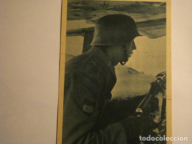 ESPAÑA DIVISION AZUL EN RUSIA 2ª GUERRA MUNDIAL - LOS COMBATIENTES DE GUARDIA - MIRA OTRAS (Postales - Postales Temáticas - II Guerra Mundial y División Azul)