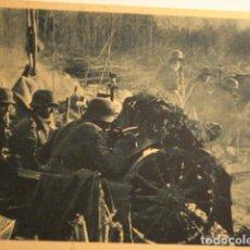 Cartes Postales: ESPAÑA DIVISION AZUL EN RUSIA 2ª GUERRA MUNDIAL - CAÑONES DE INFANTERIA - MIRA OTRAS. Lote 166736290