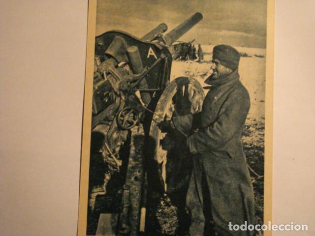 ESPAÑA DIVISION AZUL EN RUSIA 2ª GUERRA MUNDIAL - ATENCION FUEGO - MIRA OTRAS EN VENTA (Postales - Postales Temáticas - II Guerra Mundial y División Azul)