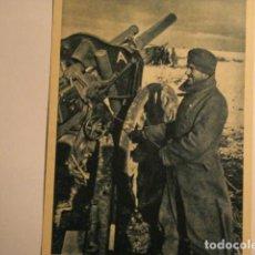 Postales: ESPAÑA DIVISION AZUL EN RUSIA 2ª GUERRA MUNDIAL - ATENCION FUEGO - MIRA OTRAS EN VENTA. Lote 166736310