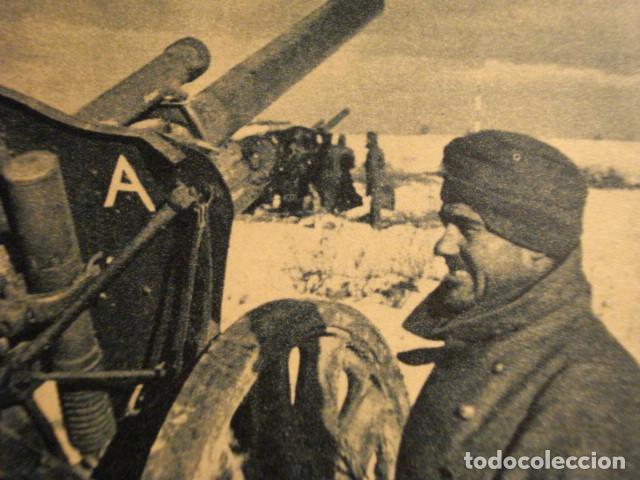 Postales: ESPAÑA DIVISION AZUL EN RUSIA 2ª GUERRA MUNDIAL - ATENCION FUEGO - MIRA OTRAS EN VENTA - Foto 2 - 166736310