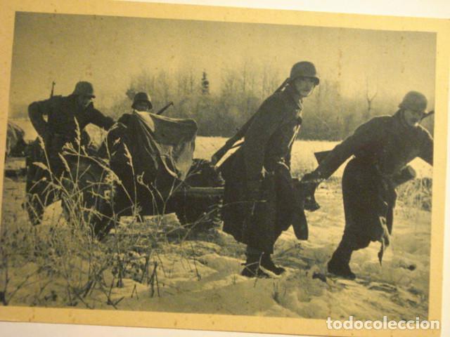 ESPAÑA DIVISION AZUL EN RUSIA 2ª GUERRA MUNDIAL - ANTITANQUES - MIRA OTRAS EN VENTA (Postales - Postales Temáticas - II Guerra Mundial y División Azul)