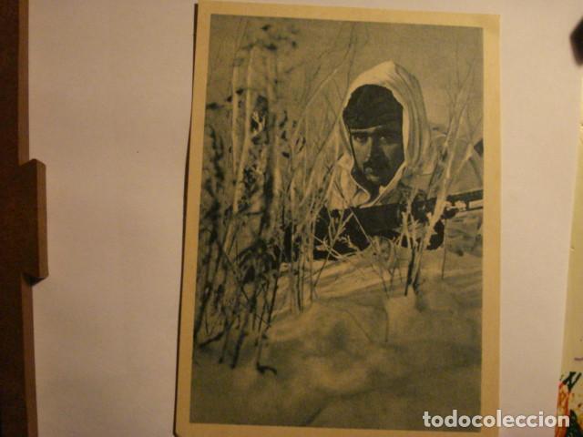 ESPAÑA POSTAL DIVISION AZUL EN RUSIA - SEGUNDA GUERRA MUNDIAL - SIEMPRE PRESTO - MIRA OTRAS (Postales - Postales Temáticas - II Guerra Mundial y División Azul)