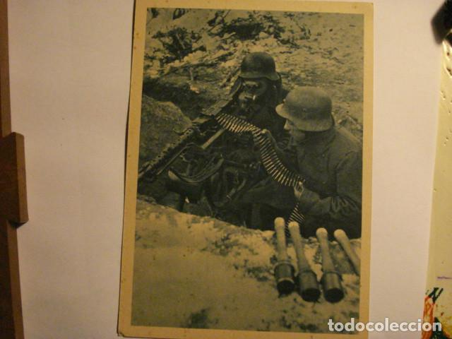 ESPAÑA POSTAL DIVISION AZUL EN RUSIA - SEGUNDA GUERRA MUNDIAL - EN LA TRINCHERA - MIRA OTRAS (Postales - Postales Temáticas - II Guerra Mundial y División Azul)