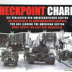 Postales: CHECK POINT CHARLIE EN BERLÍN. Lote 171210133