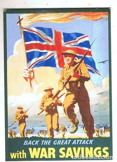 PROPAGANDA DE GUERRA BRITÁNICA (Postales - Postales Temáticas - II Guerra Mundial y División Azul)