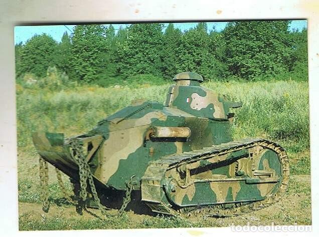 RENAULT FT-17 DEL MUSEO DE BLINDADOS DE SAUMUR (Postales - Postales Temáticas - II Guerra Mundial y División Azul)