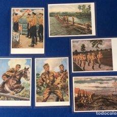 Postales: COLECCIÓN DE POSTALES ORIGINALES ALEMANAS, PROPAGANDA DE LAS SA. Lote 173538420