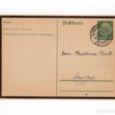 Postales: TARJETA POSTAL ALEMANA, FECHADA EN 1934 - III REICH. Lote 174183678