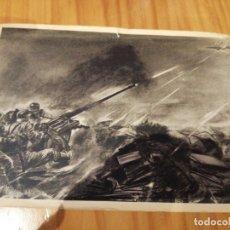 Postales: POSTAL SOLDADOS EN COMBATE DE ALEMANIA NAZI DE HITLER. Lote 174488427