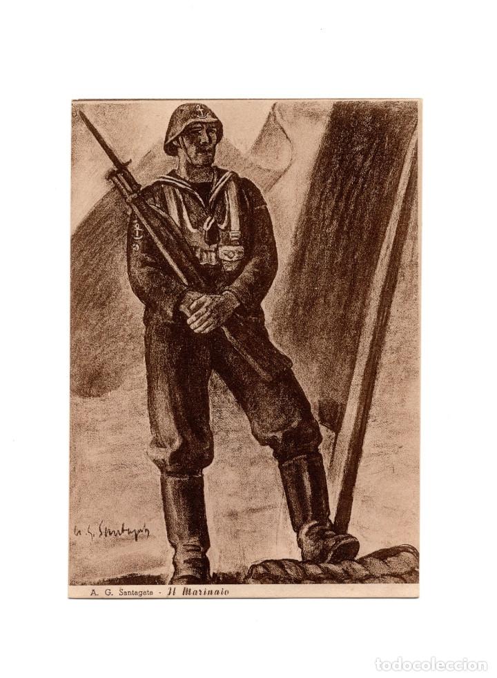 ASSOCIAZIONE NACIONALE. MUTILATI E INVALIDI DI GUERRA. ASOCIACIÓN NACIONAL MUTILADOS DE GUERRA (Postales - Postales Temáticas - II Guerra Mundial y División Azul)
