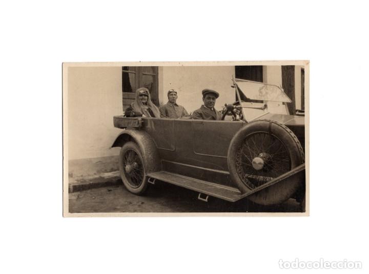 ---- POSTAL FOTOGRÁFICA.- COCHE AÑOS 20 ---- (Postales - Postales Temáticas - II Guerra Mundial y División Azul)