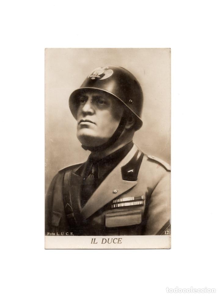 BENITO MUSSOLINI. IL DUCE. MILANO. (Postales - Postales Temáticas - II Guerra Mundial y División Azul)