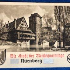 Postales: POSTAL DE PROPAGANDA TERCER REICH, DÍA DEL PARTIDO NAZI 1937 NUREMBERG REICHSPARTEITAGE. Lote 175165403