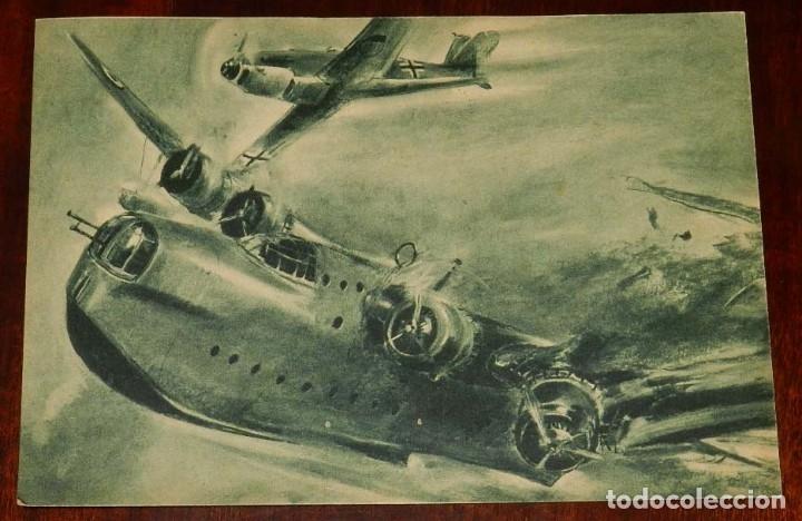 2ª SEGUNDA GUERRA MUNDIAL. EJERCITO ALEMAN. WEHRMACHT. DER ADLER - POSTAL FOTOGRAFICA (Postales - Postales Temáticas - II Guerra Mundial y División Azul)