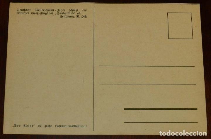 Postales: 2ª SEGUNDA GUERRA MUNDIAL. EJERCITO ALEMAN. WEHRMACHT. DER ADLER - POSTAL FOTOGRAFICA - Foto 2 - 177247859