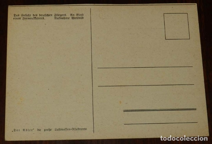 Postales: 2ª SEGUNDA GUERRA MUNDIAL, EJERCITO ALEMAN. WEHRMACHT. DER ADLER, POSTAL FOTOGRAFICA, SIN CIRCULAR - Foto 2 - 177248287