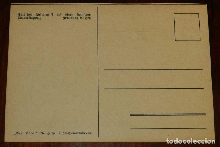 Postales: 2ª SEGUNDA GUERRA MUNDIAL, EJERCITO ALEMAN. WEHRMACHT. DER ADLER, POSTAL FOTOGRAFICA, SIN CIRCULAR - Foto 2 - 177248312